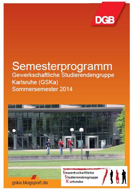 Deckblatt Semesterprogramm