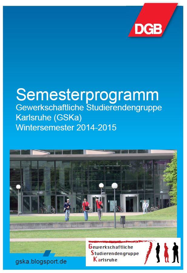 Bild Semesterprogram 2014/15